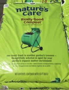 bag of compost