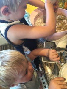 kids in the kitchen zucchini bread recipe
