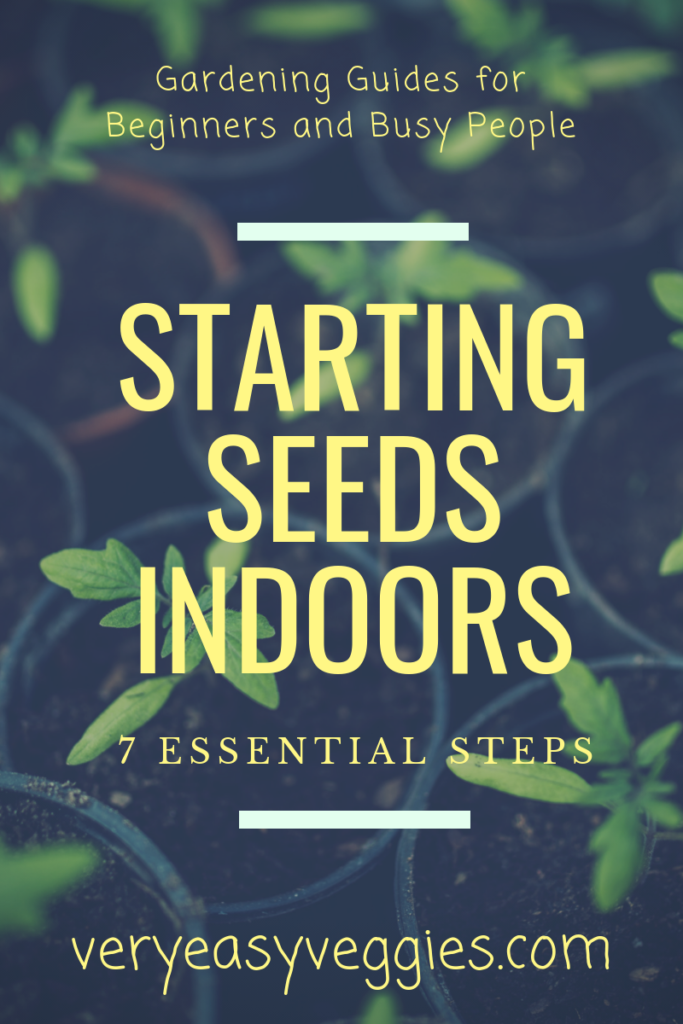 germinating and starting seeds indoors